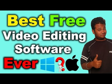 Best Free Video Editing Software Ever | 2016 [Hindi]