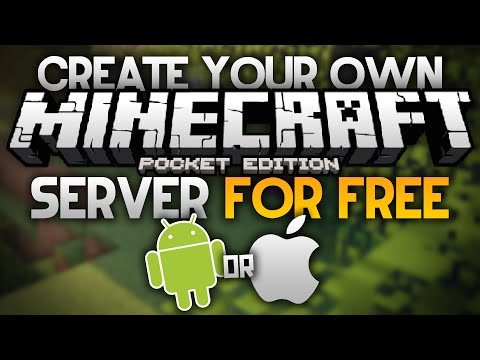 CREATE A FREE SERVER for MCPE - Android & iOS (NO JAILBREAK) - Minecraft PE (Pocket Edition)