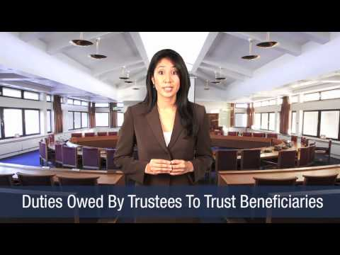 Duties Owed By Trustees To Trust Beneficiaries
