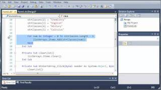 Visual Basic Tutorial - 59 - Introduction To Arrays - PakVim