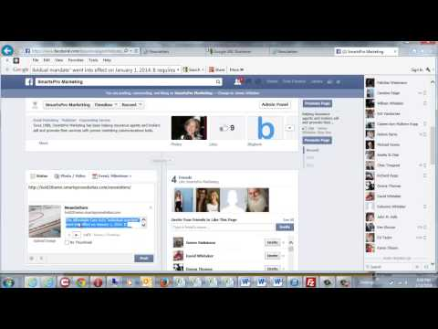 How To Post Articles From Your SmartsPro Web Newsletter To Facebook