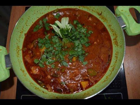 Potato and capsicum curry