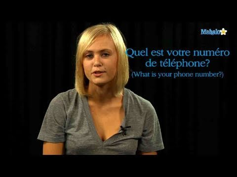 How to Ask For a Phone Number in French
