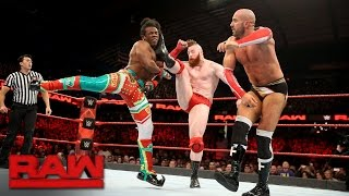 Cesaro & Sheamus vs. The New Day - Raw Tag Team Championship Match: Raw, Dec. 26, 2016