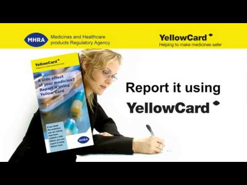 The Yellow Card Scheme for patients