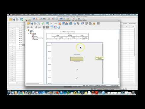 Outliers with Boxplots Using SPSS