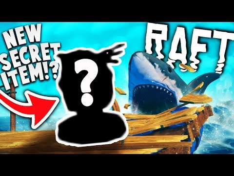 CAN WE FIND THE SECRET ITEM IN NEW RAFT UPDATE?! + NEW UPDATE INFO! | Raft Update Gameplay