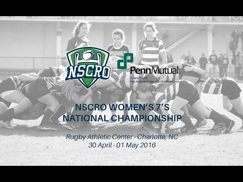 2016 NSCRO Women's 7's National Championships - Saturday