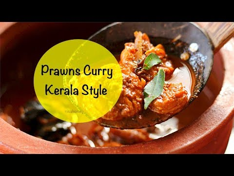 Prawns Curry Recipe - How To Make Kerala Style Prawns Curry - Kudampuliyitta Chemmeen Curry