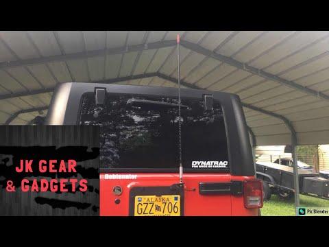 Jeep CB radio setup, easy enough to do yourself