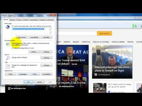 Delete Internet Explorer history,cookies,passwords,temporary files