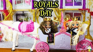 Download LOL OMG DOLL Family Morning Routine School Skin Disaster On Royals Day Video