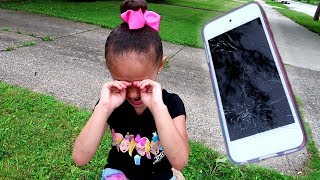 Download Imani Cracked Her ipod Touch Screen!!! Video