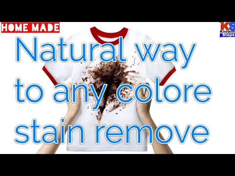 how to remove color stains from white clothes in hindi | kapde se daag hatane ke gharelu upay