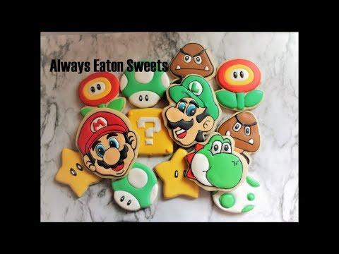 Super Mario Bro Cookies