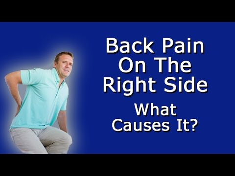 Back Pain on the Right Side: What Causes It?
