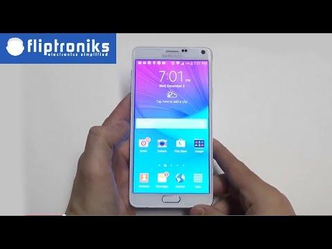Samsung Galaxy Note 4 - How to Use as a Flashlight - Fliptroniks.com