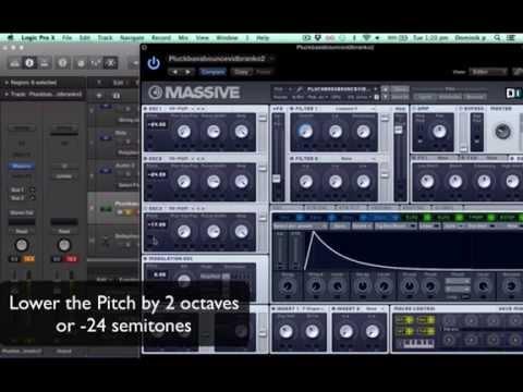 NI Massive Tutorial: Pluck Bass Guitar (In-Depth Step by Step)
