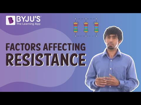 Class 6-10 - Electricity and Resistance