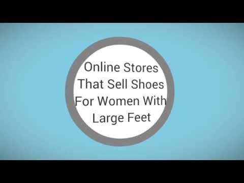 Women's Large Size Shoes Online