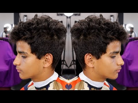 HAIRCUT TUTORIAL: CRISTIANO RONALDO HIGH FADE CURLY TOP