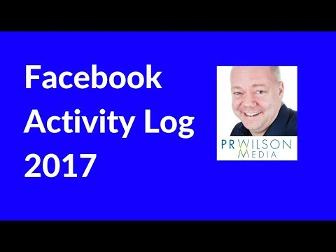 How to clean up your Facebook activity log 2017