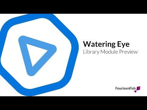 Watery eye - module preview