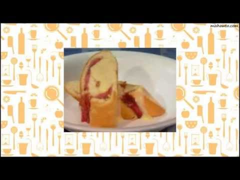 Recipe Rhubarb Rolly Polly Pudding