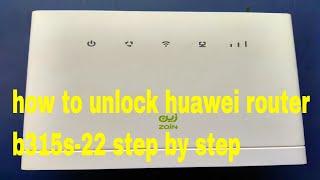 Unlock Huawei B310s 4G Router 21 316 Version - PakVim net HD