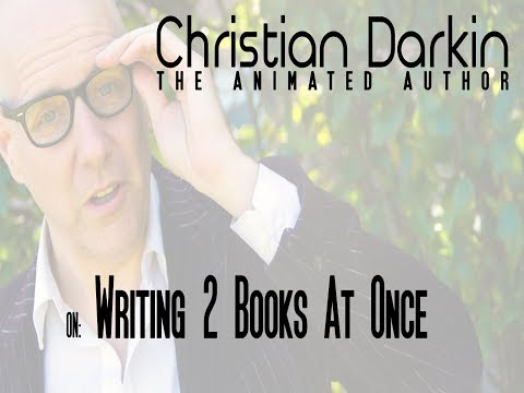 Why I'm writing 2 books at the same time...