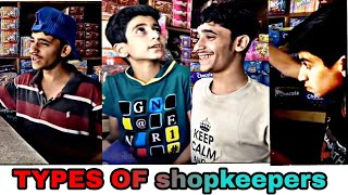 TYPES OF SHOPKEEPERS | PRINCE VYNZ OFFICIAL