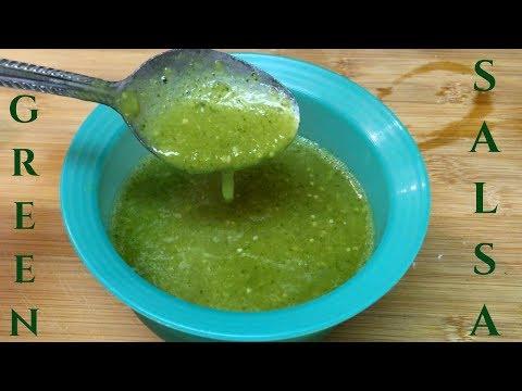 How To Make Green Salsa | Salsa Verde