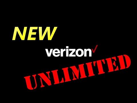 NEW VERIZON UNLIMITED ANNOUNCEMENT !!!