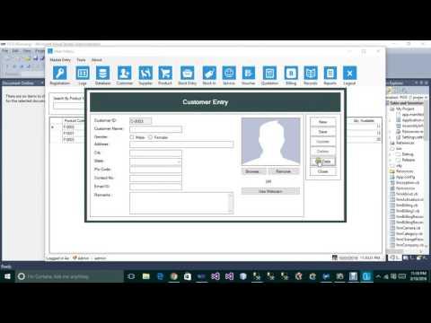 Complete Inventory Management Software (VB.NET + SQL Server) (By Original Developer not reseller)