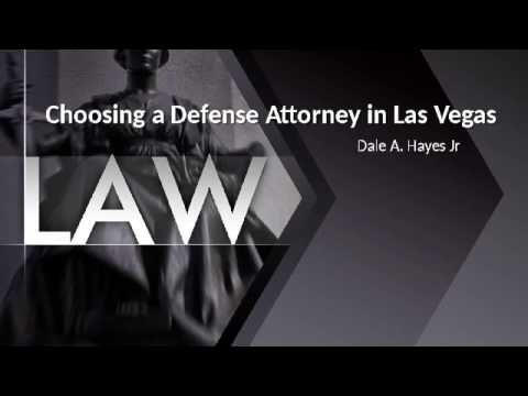 Choosing a Criminal Defense Attorney Las Vegas| DUI Lawyer