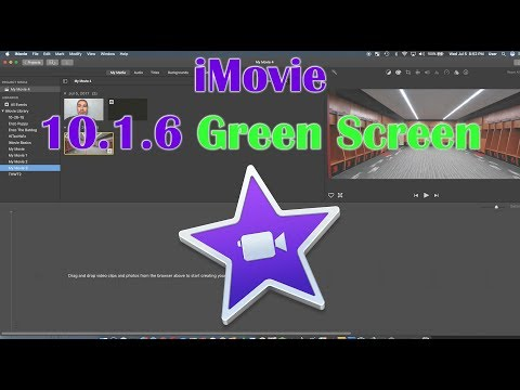 Green Screen and Blue Screen in iMovie 10.1.6