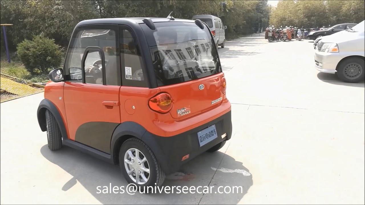 JY mini sedan electric car for 2 or 4 passengers
