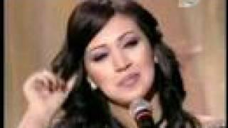asma lmnawar  أسماء لمنور وديع الصافي الليل يا ليلى taratata