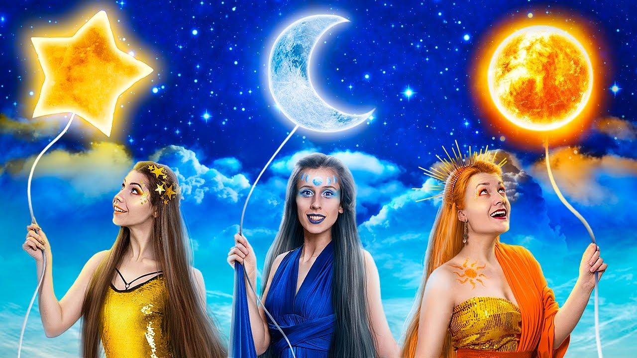 ¡Chica Luna, Sol y Estrella en la Vida Real! ¡Guerra de Bromas!