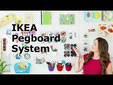My New IKEA SKÅDIS Pegboard Setup   Sea Lemon