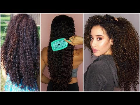 5 Curly Hair Growth Tips | How to Make Your Hair Grow Fast