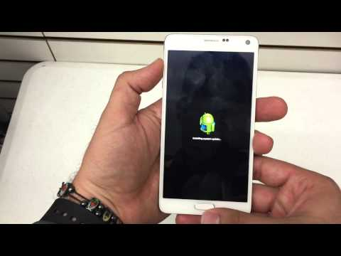 How to hard reset The Samsung Galaxy Note 4 AT&T T-Mobile Verizon Sprint Remove Password Android 5.0