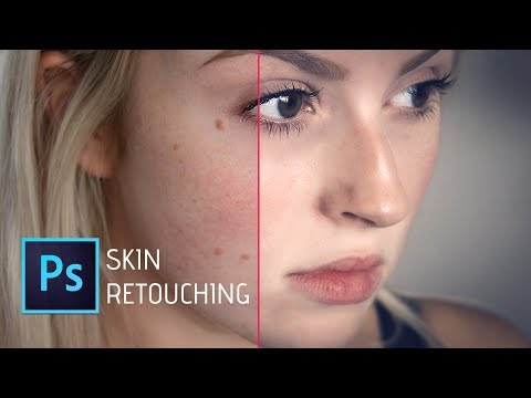 Photoshop cc Tutorial: How to Quickly Smooth Skin and Remove Blemishes & Scars