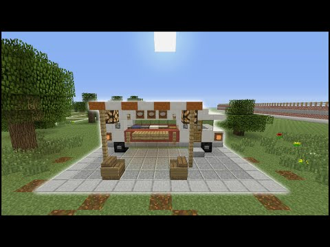 Minecraft Tutorial: How To Make A Food Truck