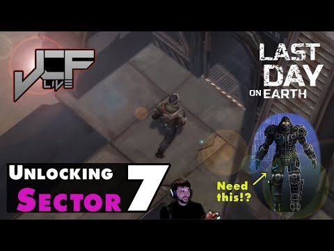 Unlocking Sector 7 in Last Day on Earth (Live Event)