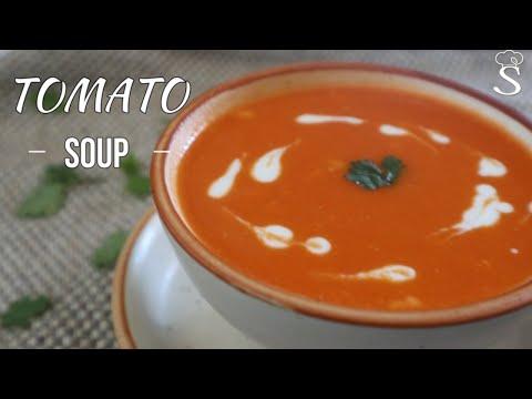 Healthy Tomato Soup Recipe | Weight Loss Recipe | Tomato Soup Indian Style Recipe by Shree's Recipes
