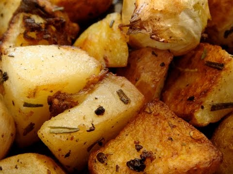 Bacon Rosemary Roasted Potatoes