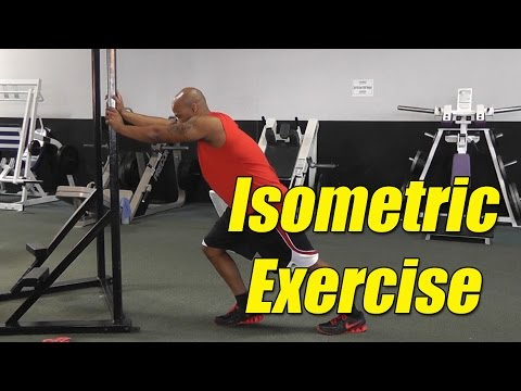 What is an isometric exercise? Isometric Exercises Definition