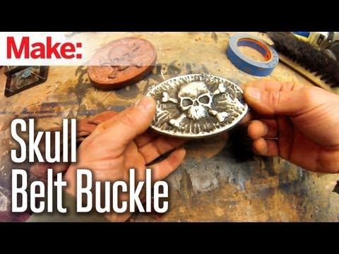 DiResta: Skull Belt Buckle