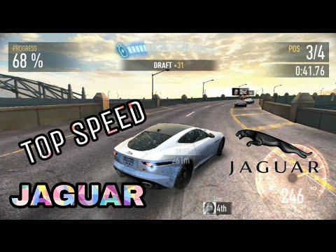 Need For Speed NoLimits-  NEW JAGUAR - CAR RACE Gameplay !